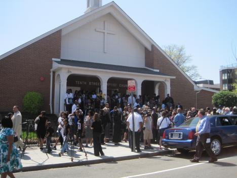The funeral of 17-year-old Tavon Nelson was the first of four services for victims of the Southeast D.C. drive-by shooting.