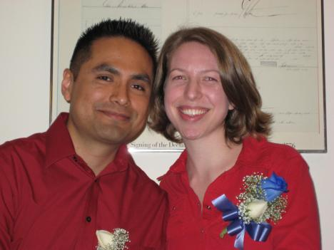 Lee and Kaari Vasquez have fostered six children in Alexandria, Virginia.