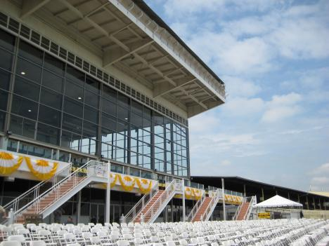 Preakness organizers hope to draw 100,000 people this weekend.