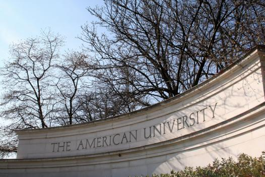 American University says it plans to cut emissions of greenhouse gases, or offset them. The university's goal is to be carbon neutral by 2020.