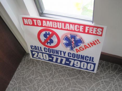 Montgomery County Council has approved ambulance user fees, despite an emotional outcry from volunteer firefighters.