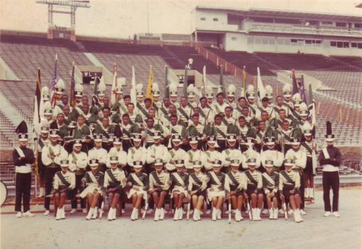 Alumni from the VIP Drum & Bugle Corps of the 1960s hope to bring the group back to DC.