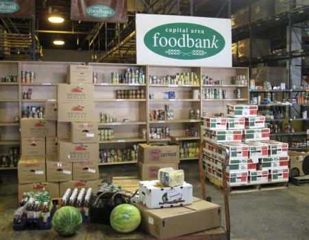 Demand for food and medical supplies from the Capital Area Food Bank continues to rise.