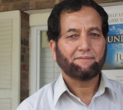Mohammad Zahid Khan is president of the mosque where the five convicted Muslim men worshiped before heading to Pakistan.