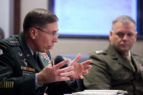 General Petraeus was confirmed by the Senate today and will replace McCrystal as commander of the war in Afghanistan.