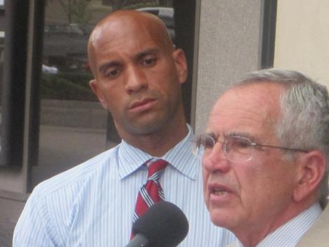 D.C. Attorney General Peter Nickels and Mayor Adrian Fenty discuss the irregularities in the city's Disability Compensation Program.