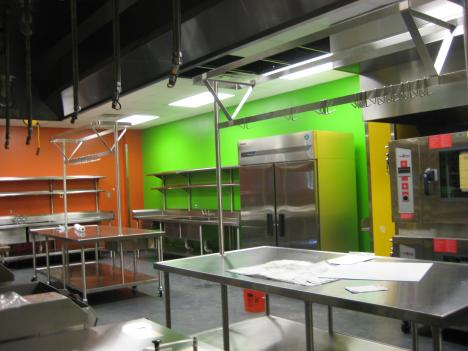 The new commercial kitchen at the Maryland Food Bank will turn hotel and hospital food donations into a million meals a year for needy families.