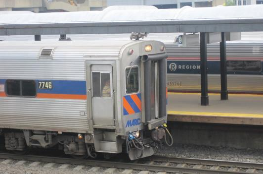 A new study shows ridership on MARC trains saves the equivalent of fuel for 12,000 cars yearly.