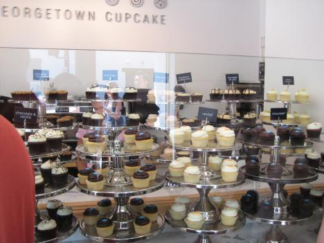 Georgetown Cupcake bakes roughly 5,000 cupcakes a day.