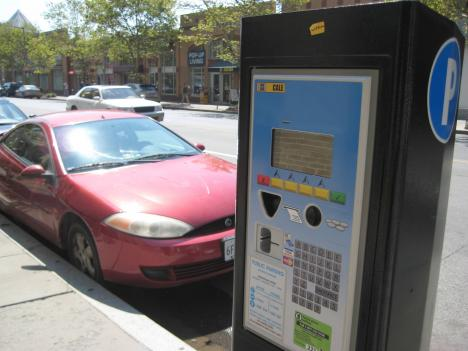 DDOT's pilot program uses license plate numbers to electronically track who has paid for parking.