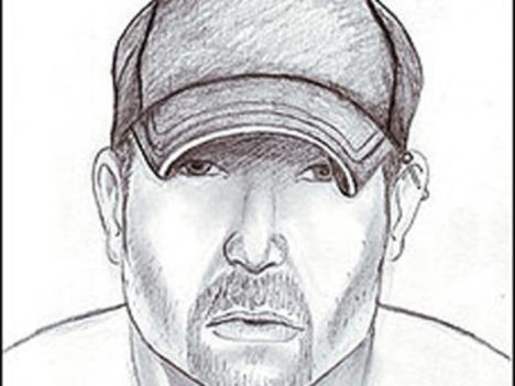 A composite sketch of an apparent serial stabber in Virginia. The suspect's attacks are raising questions about a possible link to a serial killer in Michigan.