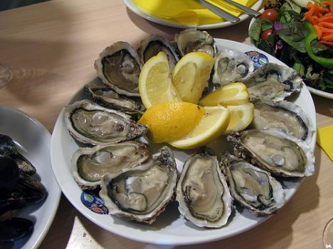 Dr. Clifford Mitchell recommends thinking twice about eating raw shellfish.