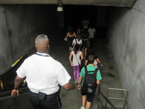 To handle an influx of student riders, Metro is increasing its police presence in stations around high schools during the afternoons after classes get out.