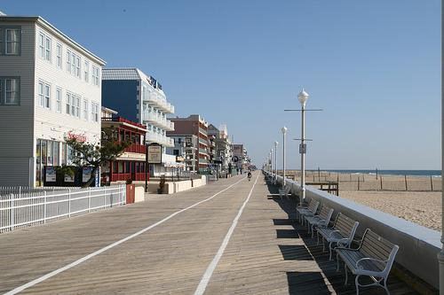 Forecasters are comparing Hurricane Earl to Hurricane Gloria, which destroyed parts of Ocean City's boardwalk in 1986.