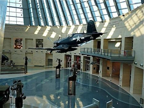 Inside the National Museum of the Marine Corps in Triangle, Va.