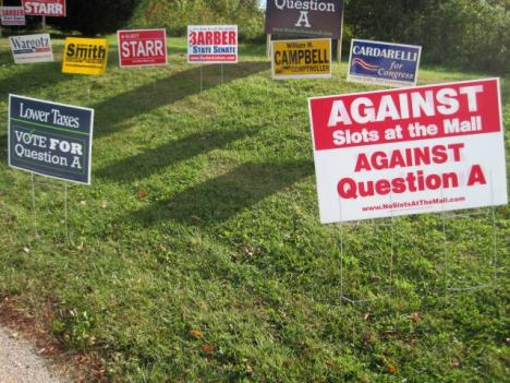 Opponents and proponents of Anne Arundel County's Question A are campaigning hard on Election Day.