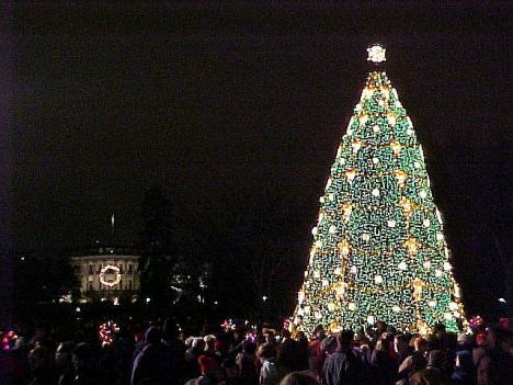 The National Christmas Tree Lighting Ceremony, which takes place in front of the White House, is scheduled for Dec. 9.