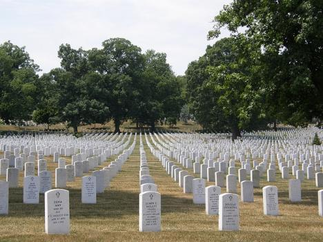 Officials at Arlington Cemetery found the cremated remains of eight people buried in one grave in October.