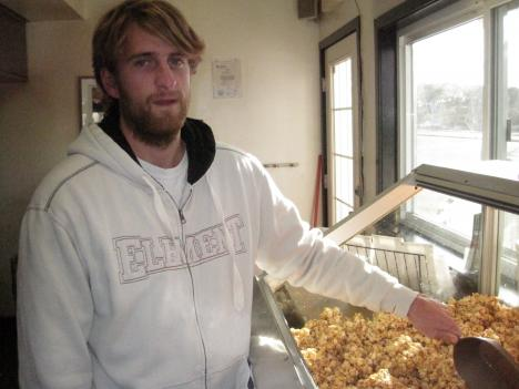 "Will Hall, who represents the fourth generation of Ocean City's most famous popcorn-making family, has been ""popping the corn"" since he was a kid."