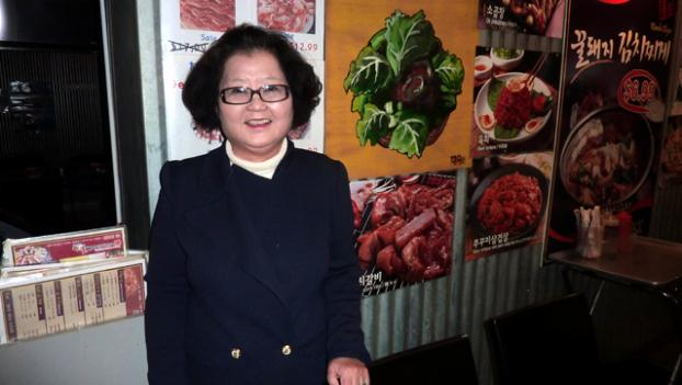 Esther runs the Honey Pig, a 24-hour Korean BBQ in Annandale, Va.