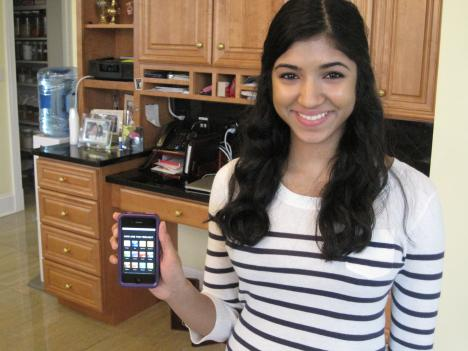 Priya Krishnan, a junior at Thomas Jefferson High School in Fairfax, is behind Project Touch and the effort to get iPod's to needy autistic children.