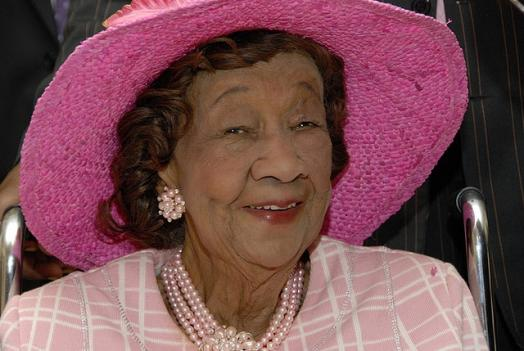 Civil rights leader Dorothy Height in 2008.