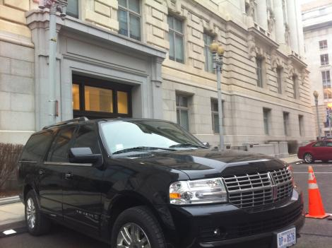 "Several weeks after Kwame R. Brown was elected D.C. Council chairman in November, city officials were asked to order for him a ""fully-loaded"" Lincoln Navigator L."