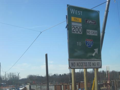 The first segment of the ICC highway in Maryland opened for traffic Feb. 23.