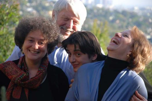 Theodore Bikel appears with Serendipty 4 members Tamara Brooks, Merima Klju?o and Shura Lipovsky on December 31st.