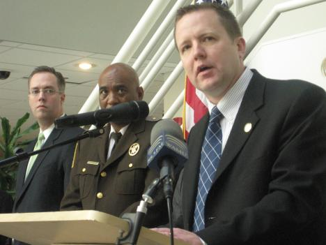 Corey Stewart has served on the Prince William County board since 2003, and was first elected chairman in 2006.