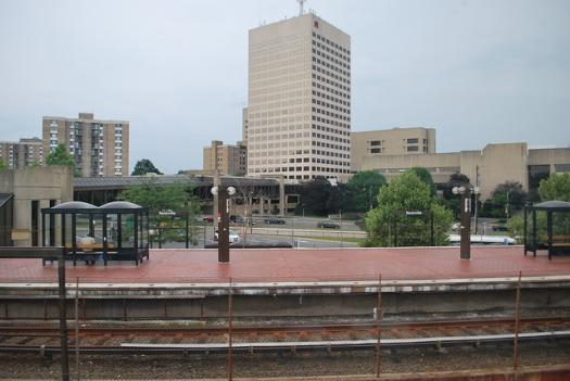A person was struck by a Metro train Friday morning at the Rockville Metro Station.