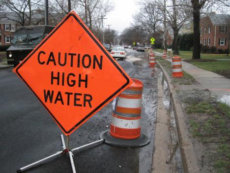 The Belleview neighborhood in Fairfax, Va., floods regularly.