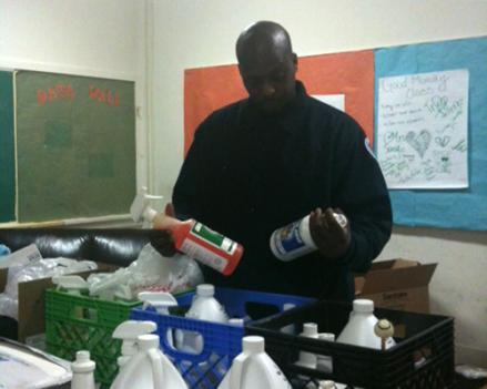 Charles Allen is a custodian of Jefferson Middle School in Southwest D.C.