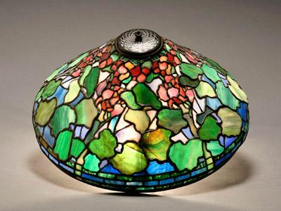 Weschler & Son has been in business for 120 years, auctioning personal items from households and estates through many different economic climates. This Tiffany Studios 'Geranium' leaded glass lamp shade sold for $58,750.