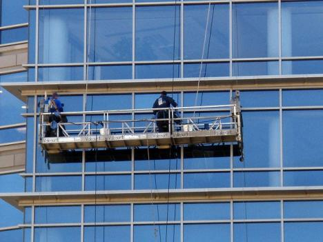 Window cleaning in Maryland.