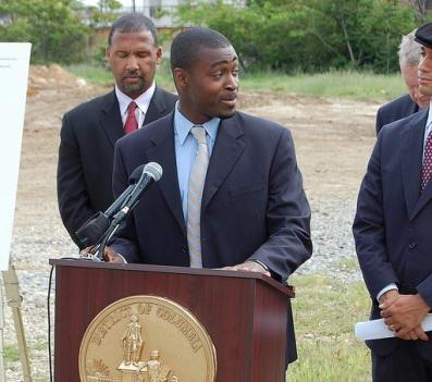 Emeka Moneme, shown here in 2008 while serving as director of D.C.'s Department of Transportation.