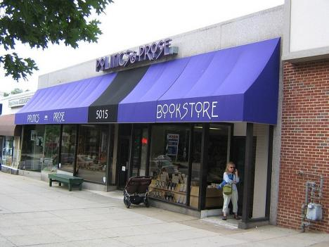 Politics and Prose is located on Connecticut Avenue in Northwest D.C.