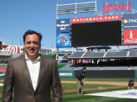 Washington Nationals COO Andy Feffer says fans and players have a lot of exciting firsts to look forward to this season.