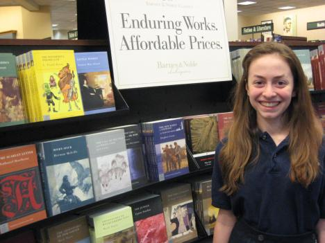 Eighth-grader Francesca Faccone captures her love of reading in her award-winning essay.