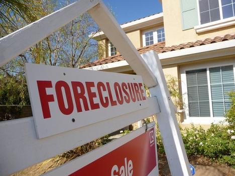 Of property that is being sold on the Eastern Shore, many are foreclosures.