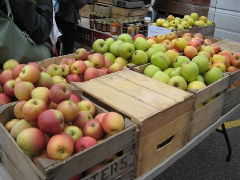 There are a number of farmers markets in D.C., but commentator Michael Jacobson says there are parts of the city that lack adequate access to healthy, nutritious food.