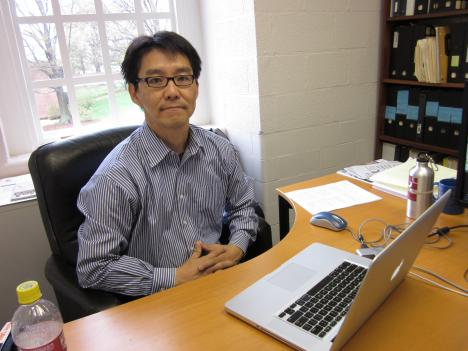 Hiroyuki Iseki, assistant professor at the School of Architecture, Planning and Preservation at the University of Maryland, was part of a team that developed a GISMap.
