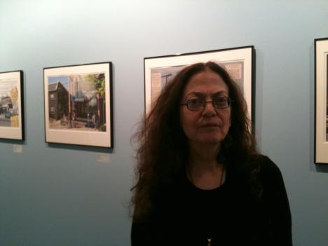 Gail Rebhan has an exhibit ofher photo collages at the Katzen Arts Center at American University in Washington, D.C. The exhibit on Tenleytown's past and present runs through Sunday, May 15.