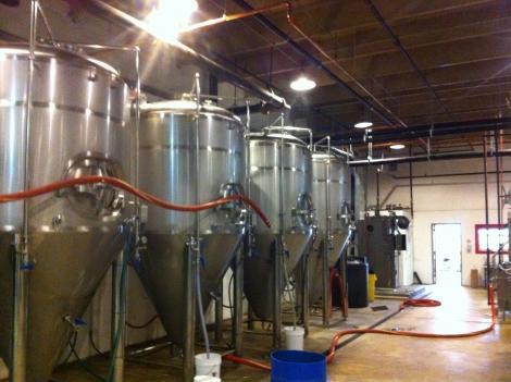 D.C. Brau brewery.