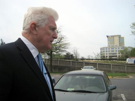 Rep. Jim Moran (D-Va.) says ideally he'd like the Mark Center project in Northern Virginia delayed for three years.