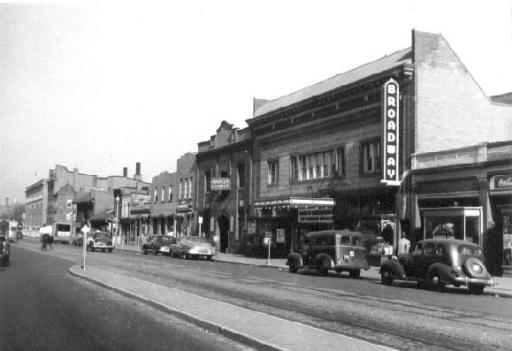 The 1500 Block of 7th Street NW, c. 1948.