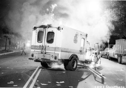 Rioters destroyed more than 20 police vehicles, costing MPD more than $600,000 in damages alone.