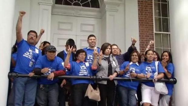 Advocates of Maryland's immigration DREAM act celebrated Maryland Governor Martin O'Malley's signing of a bill allowing undocumented immigrants to pay in-state tuition May 10.