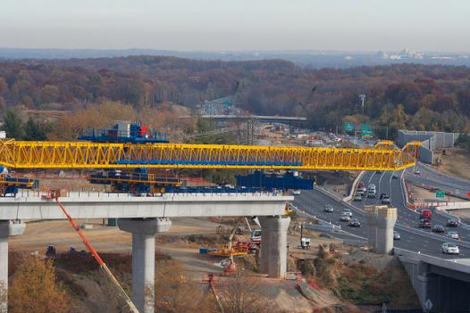 Construction work on the Wilson Bridge Project will cause delays this weekend on the Capital Beltway.