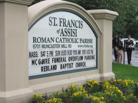 Services were held for Haeley N. McGuire at St. Francis of Assisi Roman Catholic Church in Derwood, Md.